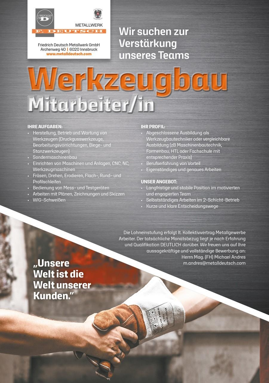 Friedrich Deutsch jobinator.at